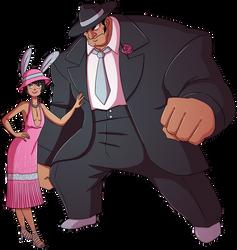 6th. Underworld Duo, Bunny and Charleston