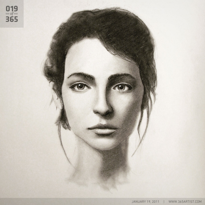 how to draw portraits in charcoal pdf