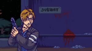 Resident Evil 6 Leon 5 - FailShort by Gonzossm