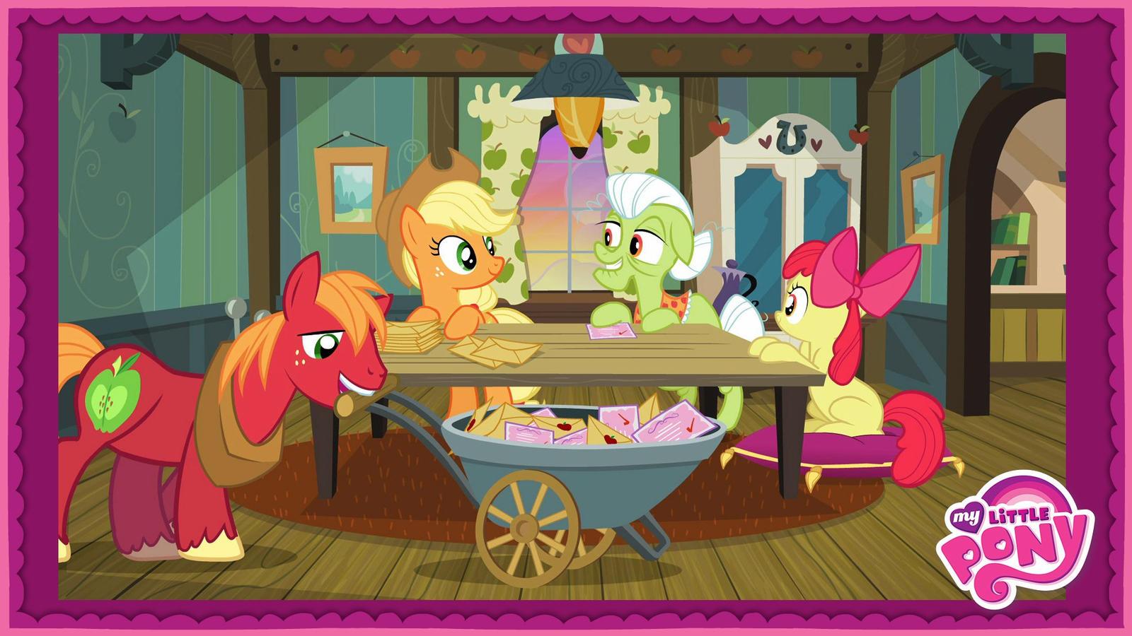 My Little Pony FiM Season 3 - Apple Family Reunion by GT4tube