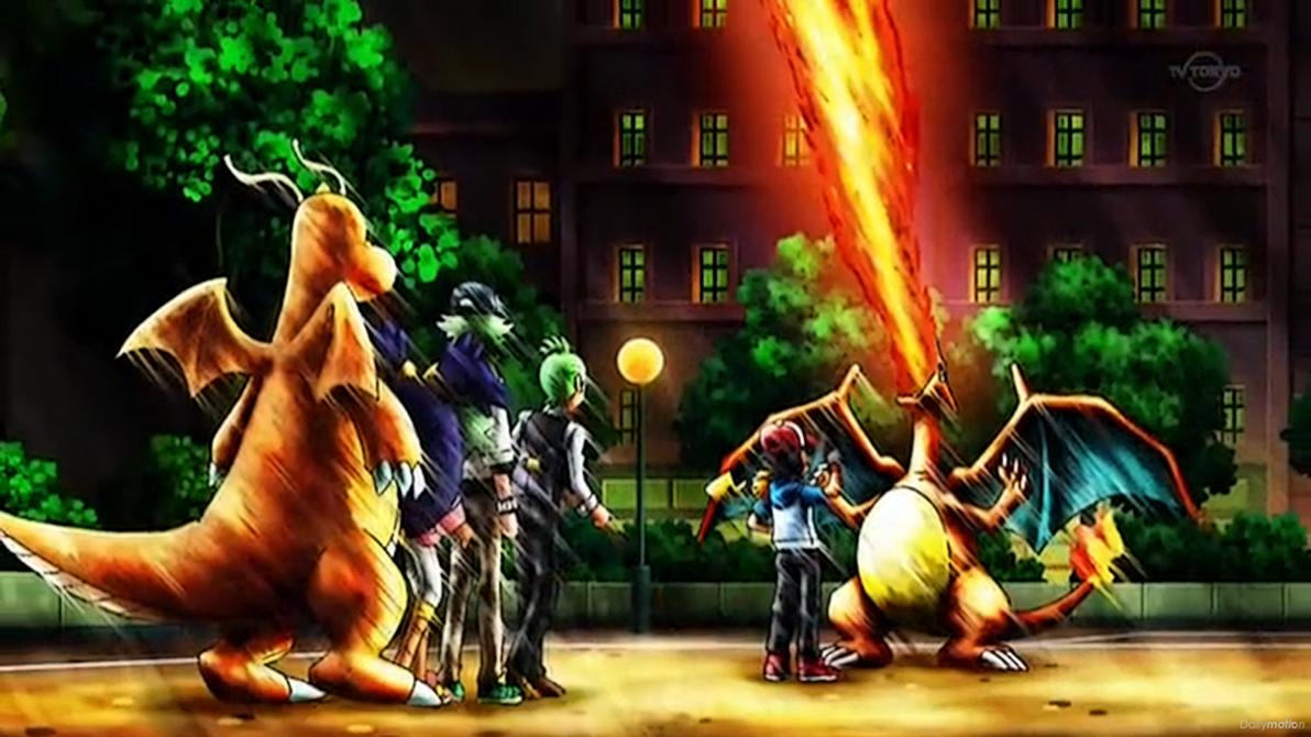 Pokemon BW S02 Episode N-8 - Charizard is Back! by GT4tube