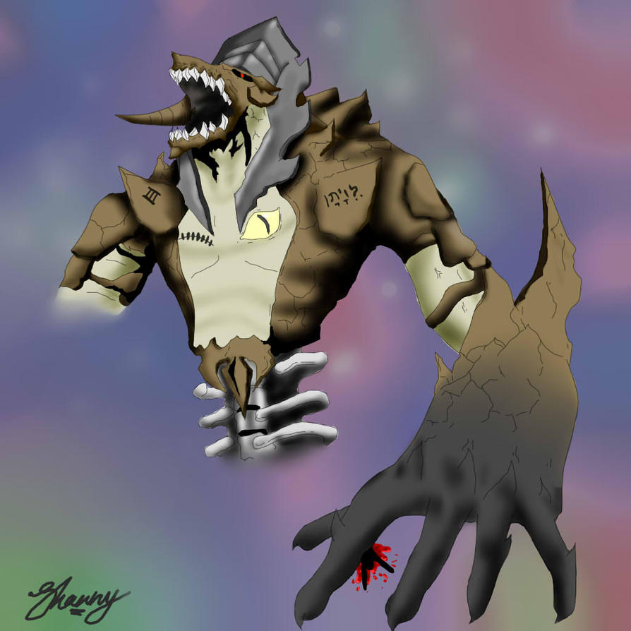 Leviathan Digital Sketch by Exodus-IV