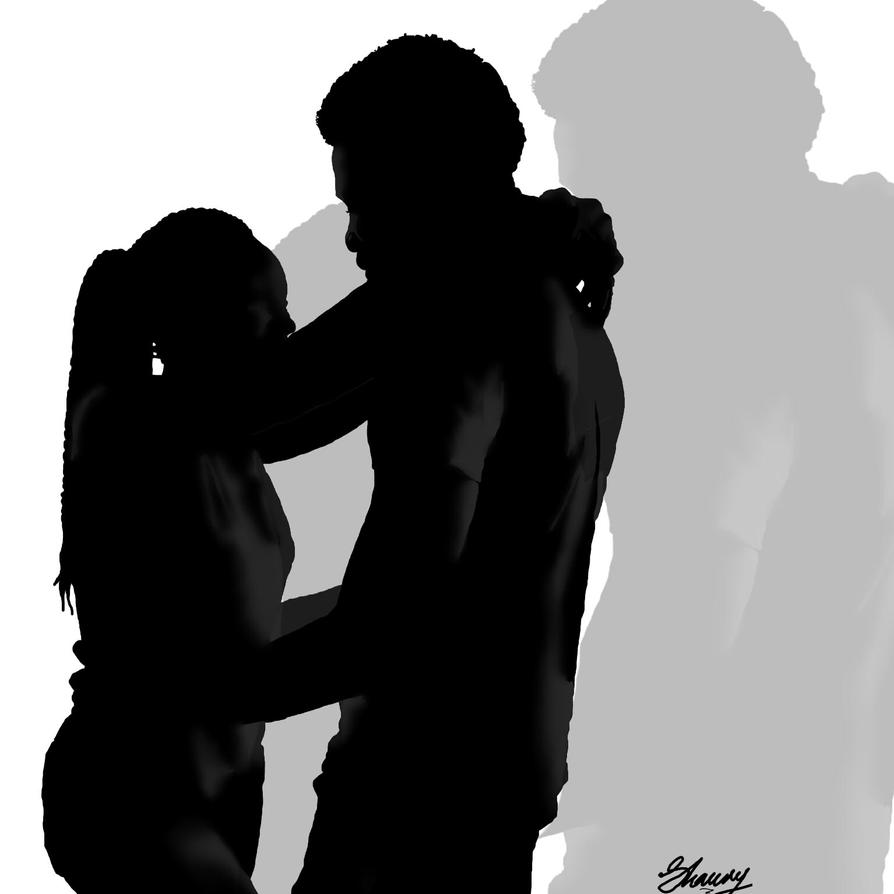 Isaac And Sarah's Silhouette by Exodus-IV