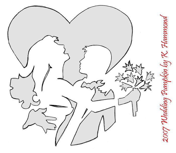 Wedding Pumpkin Pattern by jadewik on DeviantArt