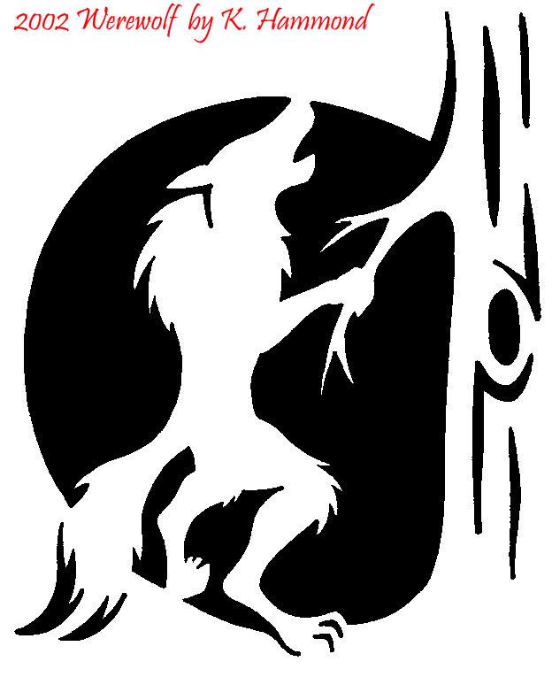 Werewolf Pumpkin Pattern by jadewik on DeviantArt