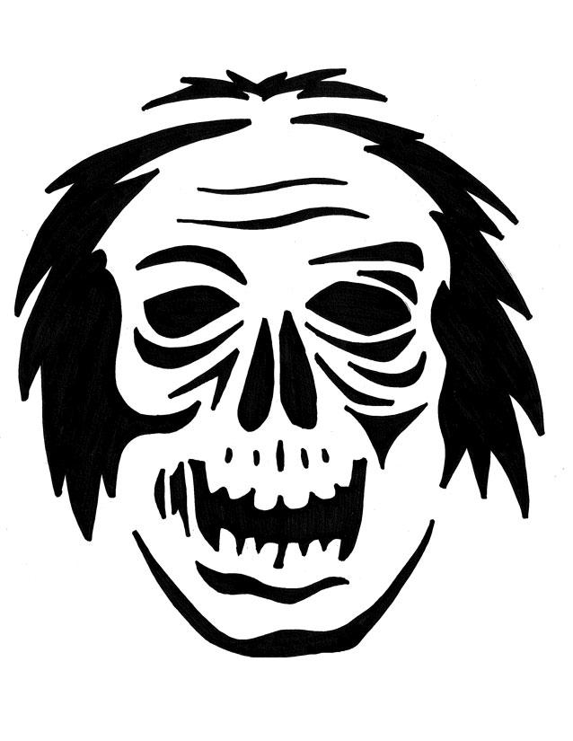 Zimbie The Zombie 2017 Carving Pattern By Jadewik