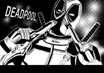 Deadpool Marvel Cover