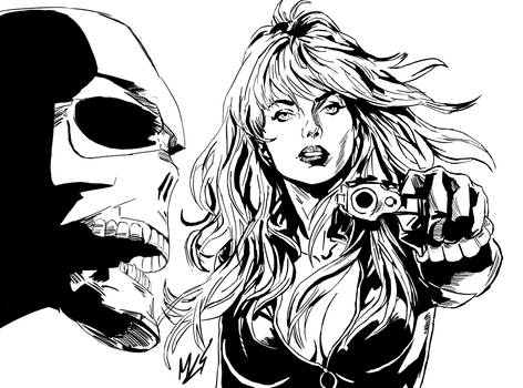 Black Widow Marvel Cover