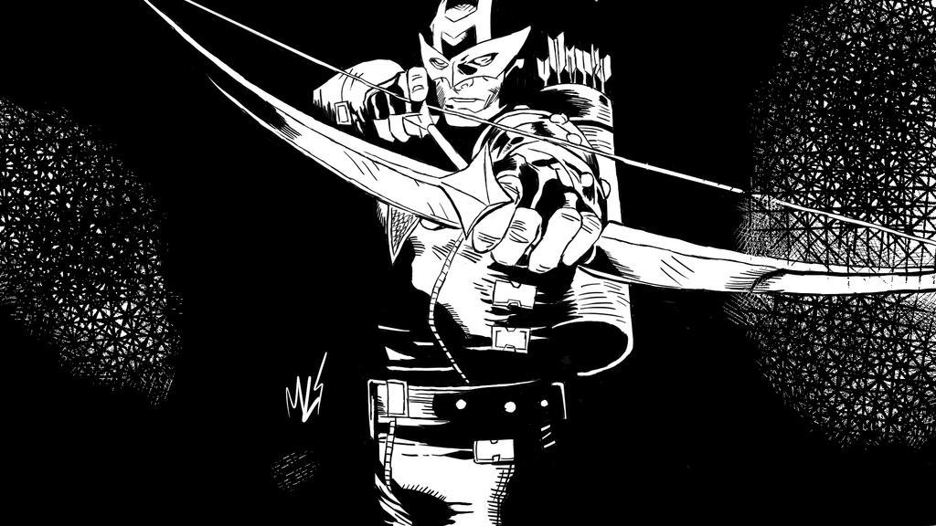 Hawkeye Cover Art by maiconlourenco