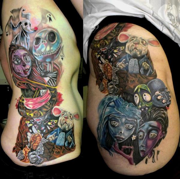 Tim Burton Tattoo - Tattoo Collections