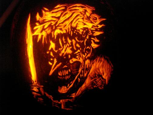 Joker Pumpkin Carvings Joker Pumpkin by Rjclrutter