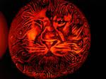 Aslan Pumpkin by rjclrutter