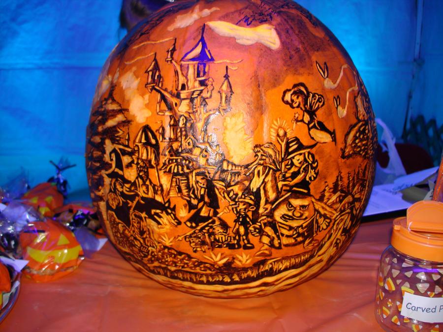 Holka Polka Pumpkin by rjclrutter