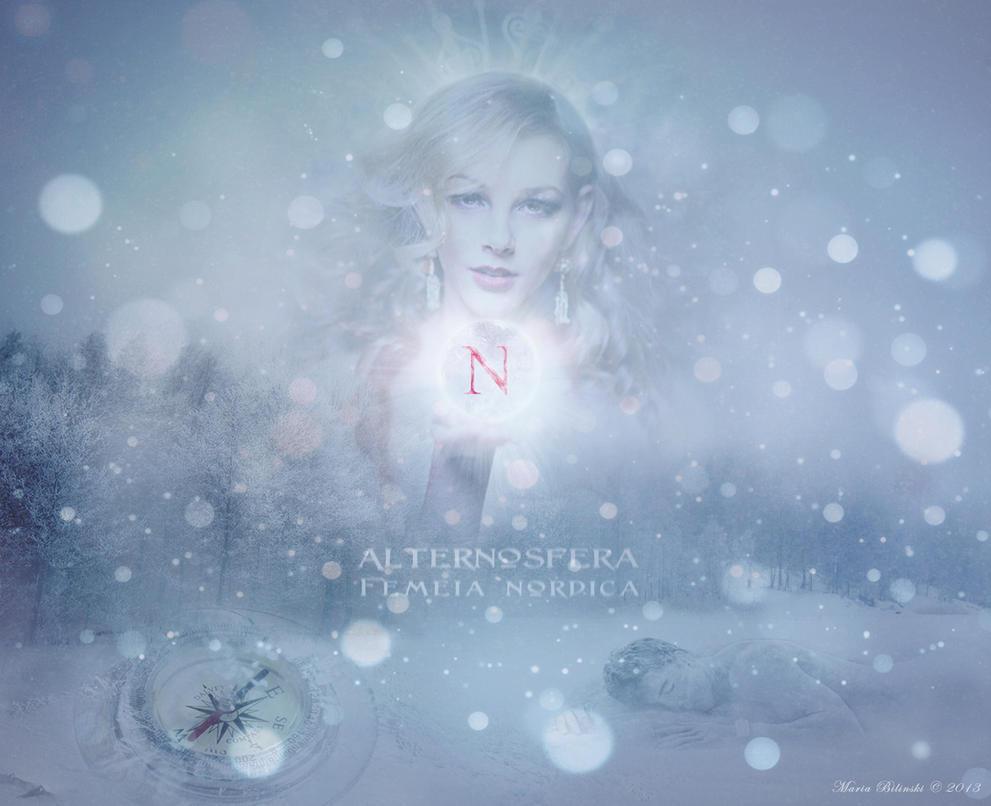 Alternosfera - Femeia nordica (Northern woman) by MariaBilinski