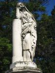 Stock 68 - Sad woman statue 1