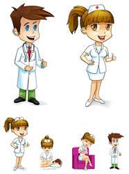 Personajes Panoramix by Vincentburton