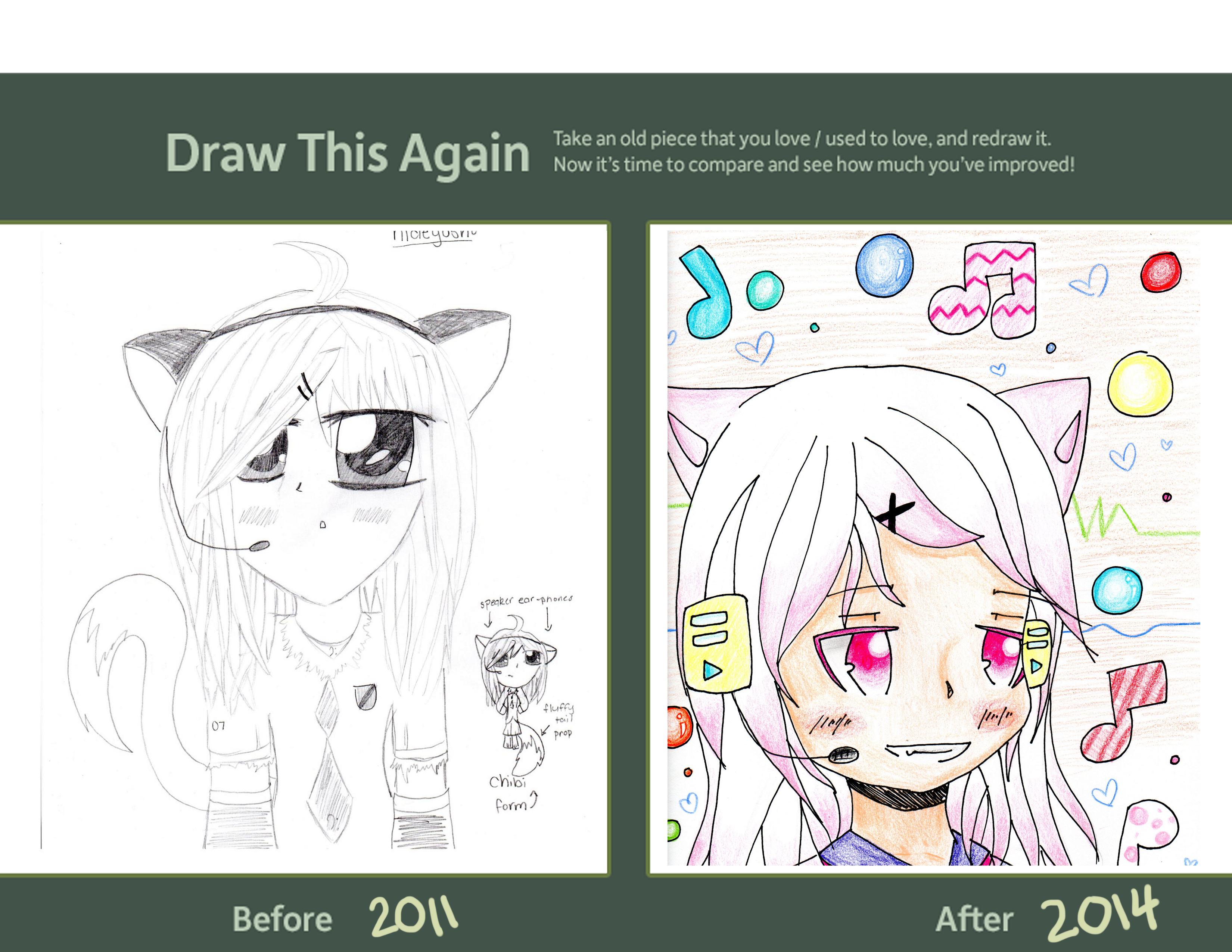 draw this again meme template - draw it again meme by windsnap cat on deviantart