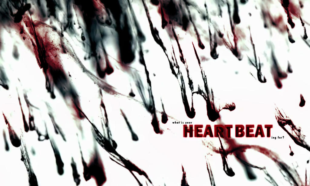 Heartbeat Line Art : Pm heartbeat wallpaper by thenani on deviantart