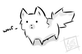 Puppy adsdgfnojglfwae by Hitoraki
