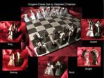 Origami Chess Set
