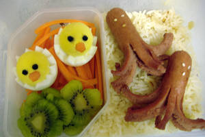 My First Bento by squeejie
