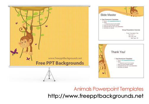 Animal Powerpoint Templates