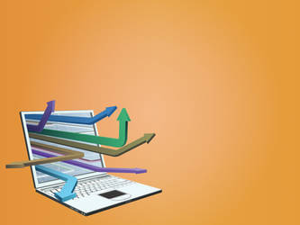 3D Internet concept technologies backgrounds