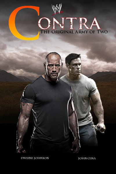 The Watch Movie Poster WWE Films-Contra by we...