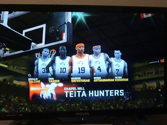 NBA2K11 Custom Team Chapel hill Teta Hunters by werewolf85