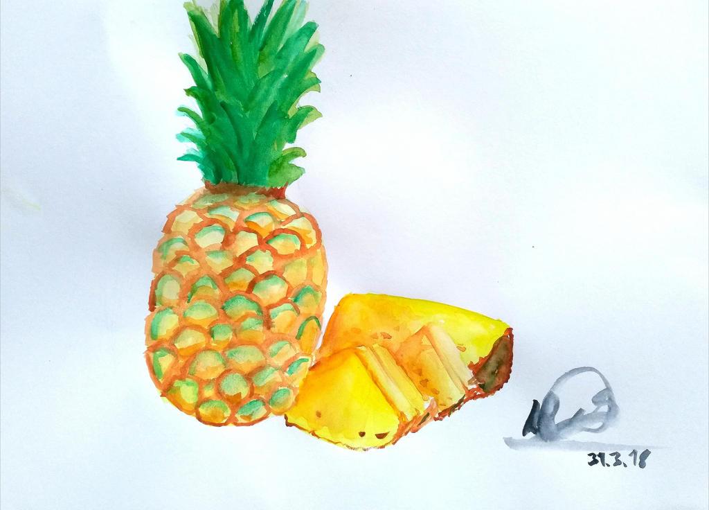 Pineapple by DaniCopic