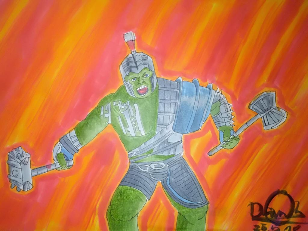 Hulk(Thor Ragnarok fanart) by DaniCopic
