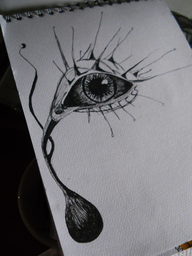 Abstract Eye Drawing | Amazing Wallpapers