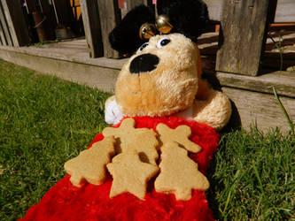 Cream Cheese + Honey Dog Biscuit Recipe