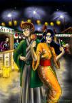Night Festival by GreenRaptor15