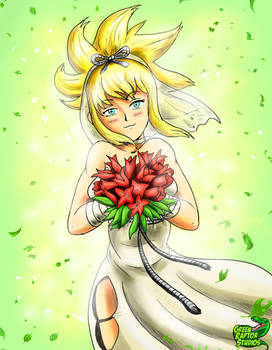 Wedding Dress Kohaku