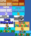 SMM Title Logos