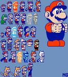Super Mario World NES Palette
