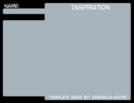 Inspiration Board Template