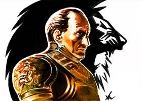 Tywin Lannister by Visyor