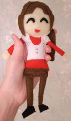 claire redfield plushie