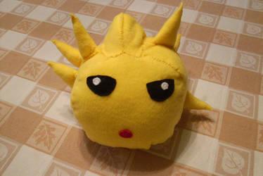 Infected Blowfish Plushie by kadajs-kitsune