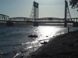 Dusk Bridge by kadajs-kitsune