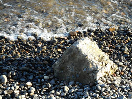 Rock Among Waves by kadajs-kitsune
