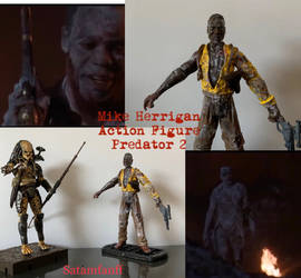 Predator 2 Action Figure by SATAMfanFF