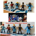 Tank Police MiniFigures by SATAMfanFF