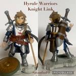 Hyrule Warriors Knight Link 3 Inch Figure by SATAMfanFF