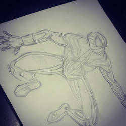 Spidey WIP by GuidoQ