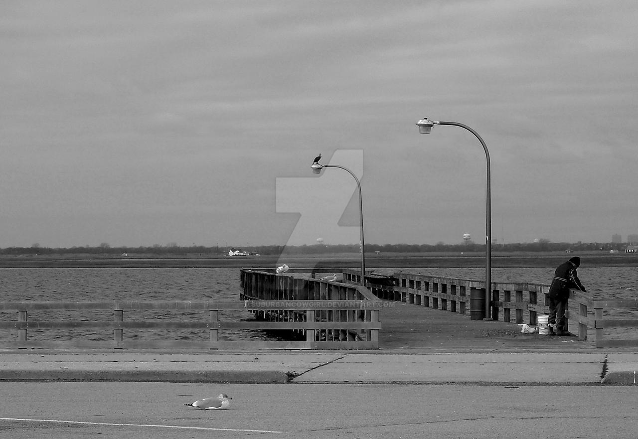 Pier by suburbancowgirl on deviantart for Jones beach fishing pier