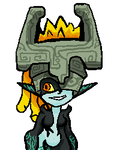 Midna Nuclear throne by Claid3990