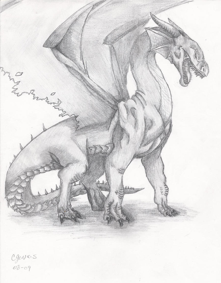 fierce dragon by samael6661 on deviantart